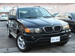 沖縄の中古車 BMW BMW X5 車両価格 75万円 リ済込 2002年 9.0万K ブラック