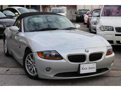 沖縄の中古車 BMW BMW Z4 車両価格 55万円 リ済込 2003年 7.5万K シルバー