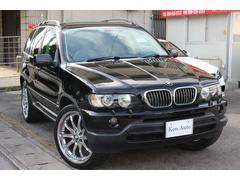 沖縄の中古車 BMW BMW X5 車両価格 69万円 リ済込 2003年 10.1万K ブラック