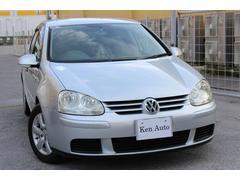 沖縄の中古車 フォルクスワーゲン VW ゴルフ 車両価格 25万円 リ済込 2005年 6.0万K シルバー
