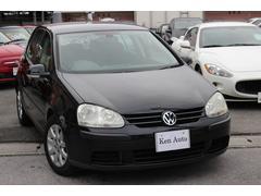 沖縄の中古車 フォルクスワーゲン VW ゴルフ 車両価格 20万円 リ済込 2005年 8.9万K ブラック