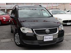 沖縄の中古車 フォルクスワーゲン VW ゴルフトゥーラン 車両価格 69万円 リ済込 2007年 6.4万K ブラック