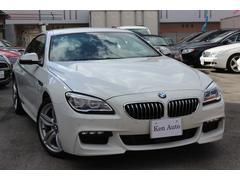 中頭郡北谷町 株式会社 ケンオート BMW BMW 640iクーペ Mスポーツ・ディーラー車・HUD・ACC ホワイト 1.7万K 2016年