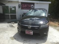 沖縄の中古車 ホンダ ストリーム 車両価格 52万円 リ済込 平成21年 11.3万K ブラックM