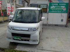 沖縄の中古車 ダイハツ タント 車両価格 41万円 リ済込 平成20年 13.8万K パールIII