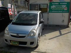 沖縄の中古車 ダイハツ ミラ 車両価格 17万円 リ済込 平成19年 12.2万K ブライトシルバーメタリック