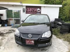 沖縄の中古車 フォルクスワーゲン VW ポロ 車両価格 26万円 リ済込 2006年 7.8万K ブラックM