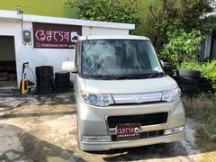 沖縄の中古車 ダイハツ タント 車両価格 50万円 リ済込 平成20年 7.6万K ゴールドM