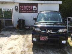 沖縄の中古車 ホンダ ゼストスパーク 車両価格 34万円 リ済込 平成23年 12.7万K ブラックM