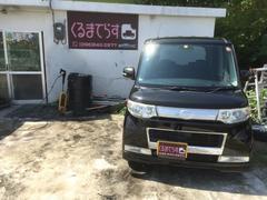 沖縄の中古車 ダイハツ タント 車両価格 55万円 リ済込 平成20年 6.1万K ブラックM