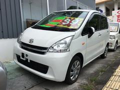 沖縄の中古車 ダイハツ ムーヴ 車両価格 39万円 リ済込 平成22年 10.5万K ホワイト