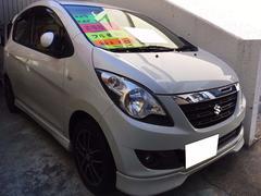 沖縄の中古車 スズキ セルボ 車両価格 29万円 リ済込 平成20年 12.8万K パールホワイト