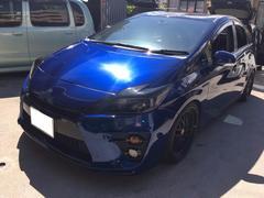 沖縄の中古車 トヨタ プリウス 車両価格 134万円 リ済込 平成21年 13.9万K ブルー
