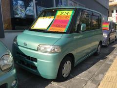 沖縄の中古車 ダイハツ タント 車両価格 19万円 リ済込 平成17年 9.8万K ライトグリーンメタリックオパール