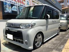 沖縄の中古車 ダイハツ タント 車両価格 65万円 リ済込 平成22年 11.5万K パールホワイトIII