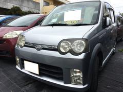 沖縄の中古車 ダイハツ ムーヴ 車両価格 25万円 リ済別 平成17年 14.9万K シルバー