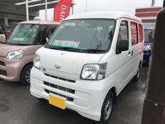 沖縄の中古車 ダイハツ ハイゼットカーゴ 車両価格 98万円 リ済別 平成29年 6K ホワイト