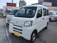 沖縄の中古車 ダイハツ ハイゼットカーゴ 車両価格 98万円 リ済別 平成29年 5K ホワイト
