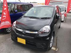 沖縄の中古車 ダイハツ ミライース 車両価格 103万円 リ済別 平成27年 0.8万K ブラック