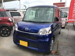 沖縄の中古車 ダイハツ タント 車両価格 129万円 リ済別 平成28年 1.0万K ブルー