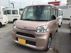 沖縄の中古車 ダイハツ タント 車両価格 130万円 リ済別 平成29年 1.1万K ピンク