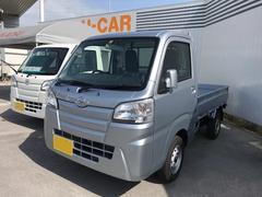 沖縄の中古車 ダイハツ ハイゼットトラック 車両価格 95万円 リ済別 平成29年 5K シルバー