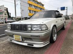 沖縄の中古車 トヨタ クラウン 車両価格 100万円 リ済込 平成2年 6.4万K ホワイトII