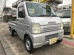 沖縄の中古車 スズキ キャリイトラック 車両価格 47万円 リ済込 平成15年 6.8万K シルバー