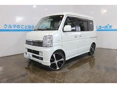 沖縄の中古車 スズキ エブリイワゴン 車両価格 62万円 リ済別 平成20年 9.2万K パールホワイト