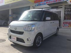 沖縄の中古車 ダイハツ ムーヴキャンバス 車両価格 137万円 リ済込 平成28年 5K パールIII