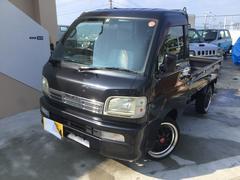沖縄の中古車 ダイハツ ハイゼットトラック 車両価格 49万円 リ済込 平成16年 12.2万K ブラックM