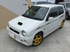 沖縄の中古車 スズキ アルトワークス 車両価格 19万円 リ済込 平成10年 12.0万K ホワイト