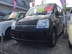 沖縄の中古車 ダイハツ ムーヴ 車両価格 19万円 リ済込 平成15年 12.1万K ブラック