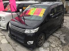 沖縄の中古車 スズキ ワゴンRスティングレー 車両価格 55万円 リ済込 平成21年 8.2万K ブラックM