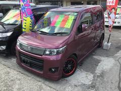 沖縄の中古車 スズキ ワゴンRスティングレー 車両価格 69万円 リ済込 平成23年 5.7万K ピンクM