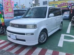 沖縄の中古車 トヨタ bB 車両価格 39万円 リ済別 平成15年 6.3万K パールホワイト