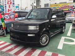 沖縄の中古車 トヨタ bB 車両価格 36万円 リ済別 平成14年 8.9万K ブラックM