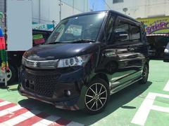 沖縄の中古車 スズキ パレットSW 車両価格 75万円 リ済別 平成24年 9.1万K ブラックM
