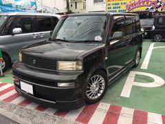 沖縄の中古車 トヨタ bB 車両価格 42万円 リ済別 平成16年 9.7万K ダークグリーンM