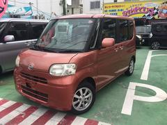 沖縄の中古車 ダイハツ タント 車両価格 51万円 リ済別 平成20年 7.3万K レッドIII