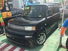 沖縄の中古車 トヨタ bB 車両価格 45万円 リ済別 平成17年 8.3万K ブラックII