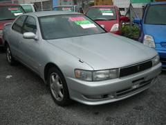 沖縄の中古車 トヨタ クレスタ 車両価格 44万円 リ済込 平成6年 7.4万K シルバー