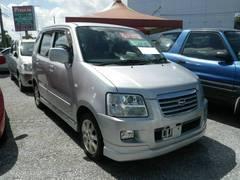沖縄の中古車 スズキ ワゴンRソリオ 車両価格 30万円 リ済込 平成14年 8.3万K シルバー