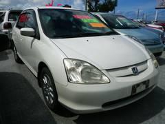 沖縄の中古車 ホンダ シビック 車両価格 44万円 リ済込 平成13年 4.5万K パールホワイト