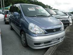 沖縄の中古車 日産 セレナ 車両価格 44万円 リ済込 平成13年 8.7万K ブルーII