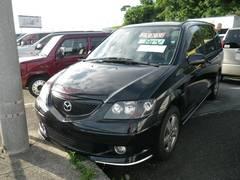 沖縄の中古車 マツダ MPV 車両価格 34万円 リ済込 平成15年 9.6万K ブラックM