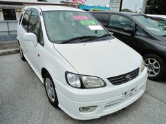 沖縄の中古車 トヨタ カローラスパシオ 車両価格 34万円 リ済込 平成13年 6.6万K ホワイト