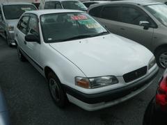 沖縄の中古車 トヨタ スプリンター 車両価格 44万円 リ済込 平成7年 2.9万K ホワイト