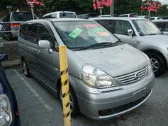 沖縄の中古車 日産 セレナ 車両価格 44万円 リ済込 平成15年 10.7万K シルバー