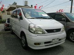沖縄の中古車 日産 セレナ 車両価格 34万円 リ済込 平成11年 6.3万K ホワイト